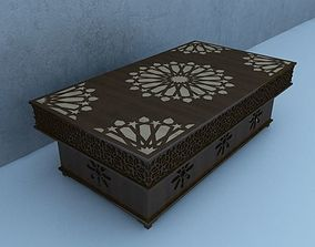 Traditional Moroccan Table 3D