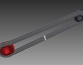 3D model chain transmission