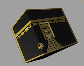 3D print model Khana Kaaba holy place for Muslim