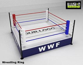 3D model wrestling Wrestling Ring