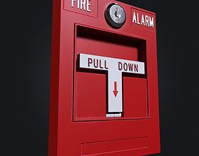 3D model interior Fire Alarm
