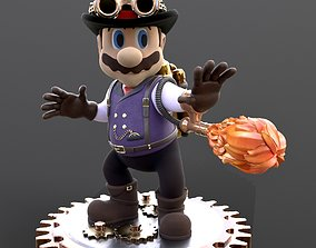 3D print model Steampunk Mario STL