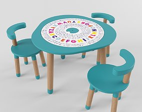 Play table - MUtable 3D model