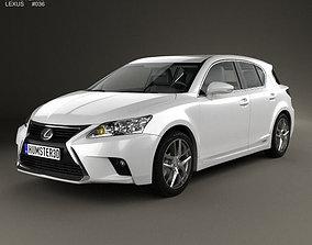 3D model Lexus CT 2014