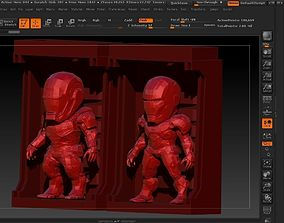 3D print model Iron Man SD