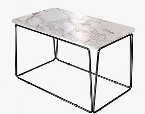 3D model holly hunt ANYA SIDE TABLE