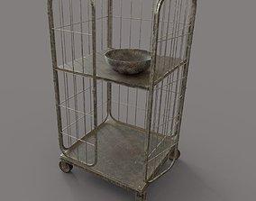 Worn Cage 3D model