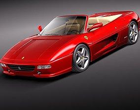 Ferrari F355 spider 1994-1999 3D Model 1997