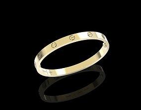 3D print model unisex bracelet