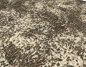 3D Sand and Gravel Seamless Pack 2 PBR
