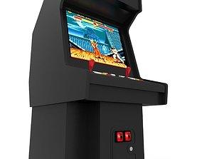 Arcade Machine 3D model realtime