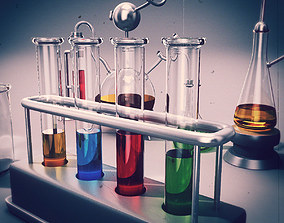 Chemistry Equipment 3D model