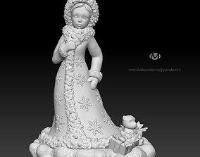 maiden 3D print model