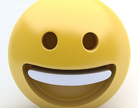 EMOJI Happy 3D model