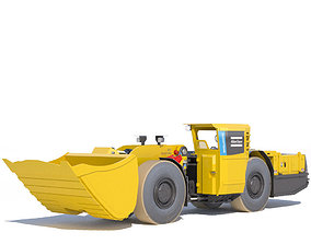 Atlas Copco underground loader Scooptram ST7 3D model 2