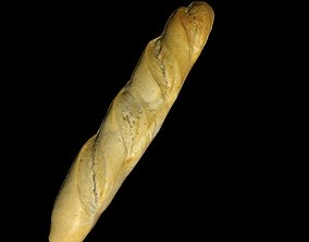 baguette 40cm 3D