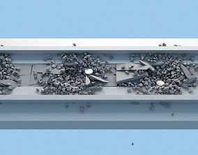 3D model Road Sewege Collapse Simulation