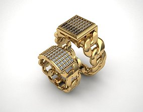 cartier gold ring print model sterling