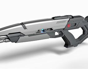 3D printable model Phaser rifle from the movie Star Trek 2