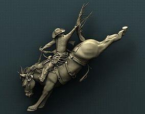 cowboy 3d STL Model for CNC Router - Cowboy
