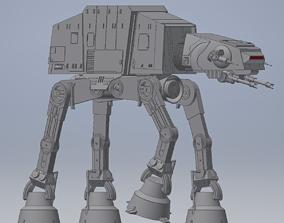 Ultra Realistic Star Wars AT-AT Model star