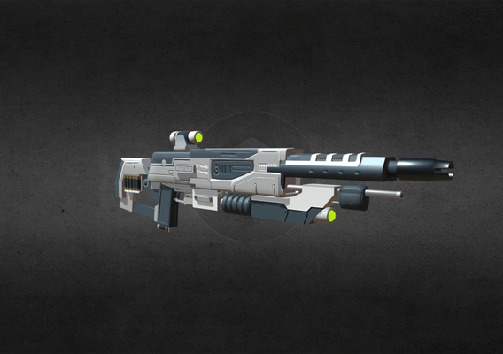 Futuristic Shotgun Design