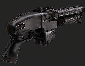 GUN 1006 - Shotgun 3D