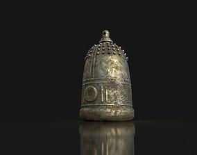 3D asset Old Japanese Bell