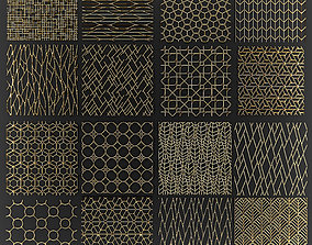3D fence Collection of golden lattice