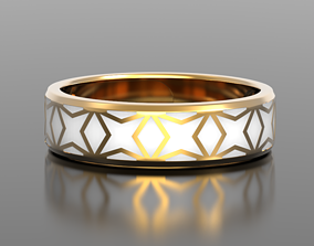 Geometry enamel ring 3D printable model