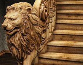 furniture Lion Baluster 3D