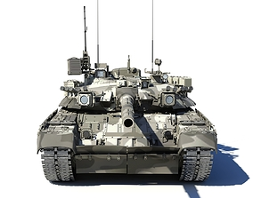 3D T-80UK