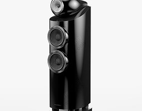 electronics Bowers and Wilkins 803 D3 Gloss Black 3D model