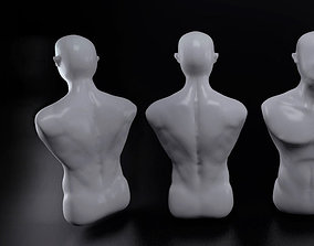 male human body statue 3D printable model