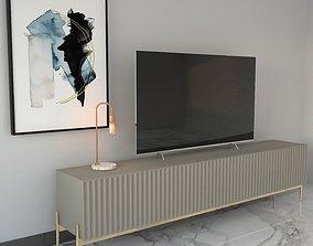 3D model TV UNITS MODERN