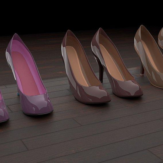 High heel women shoes 01 p2