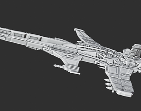 3D printable model Spaceship A