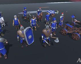 3D asset Medieval Soldier Pack