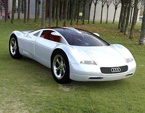 3D Audi Avus Quattro for DAZ Studio