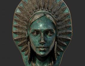 Indian Head 3D model