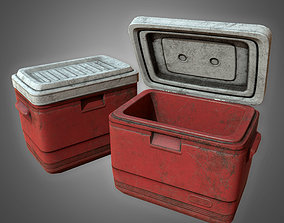 game-ready GEN - Old Plastic Cooler - PBR Game Ready 3D