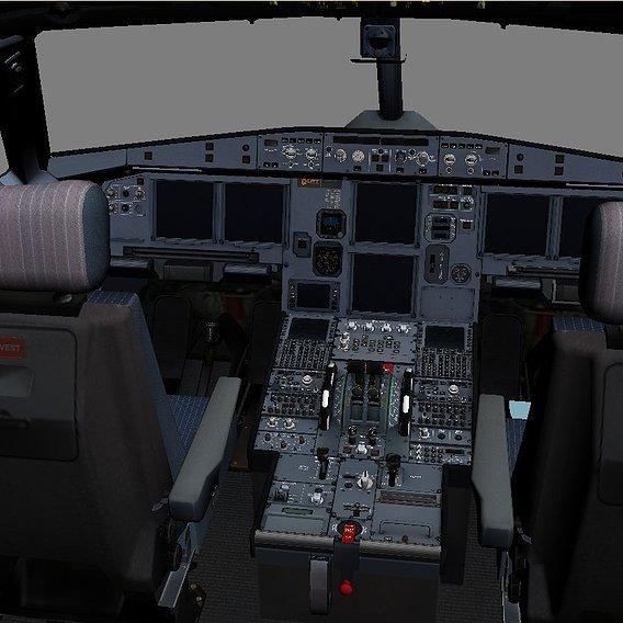 Airbus A-320 Virtual cockpit