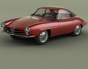 Alfa Romeo Giulietta Sprint Speciale 3D model