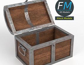Treasure chest 3D PBR