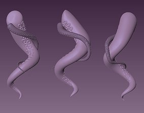 tentacles octopus for 3d print - for zbrush sculpting