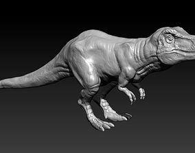 Tyrannosaurus dinosaur 3D printable model