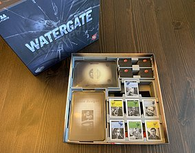 Watergate Board Game Organizer 3D print model