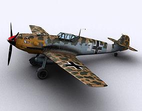 Messerschmitt BF109-E7 Trop 3D model