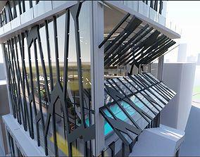 3D Hostel design