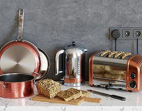 Dualit kitchen set 3D model